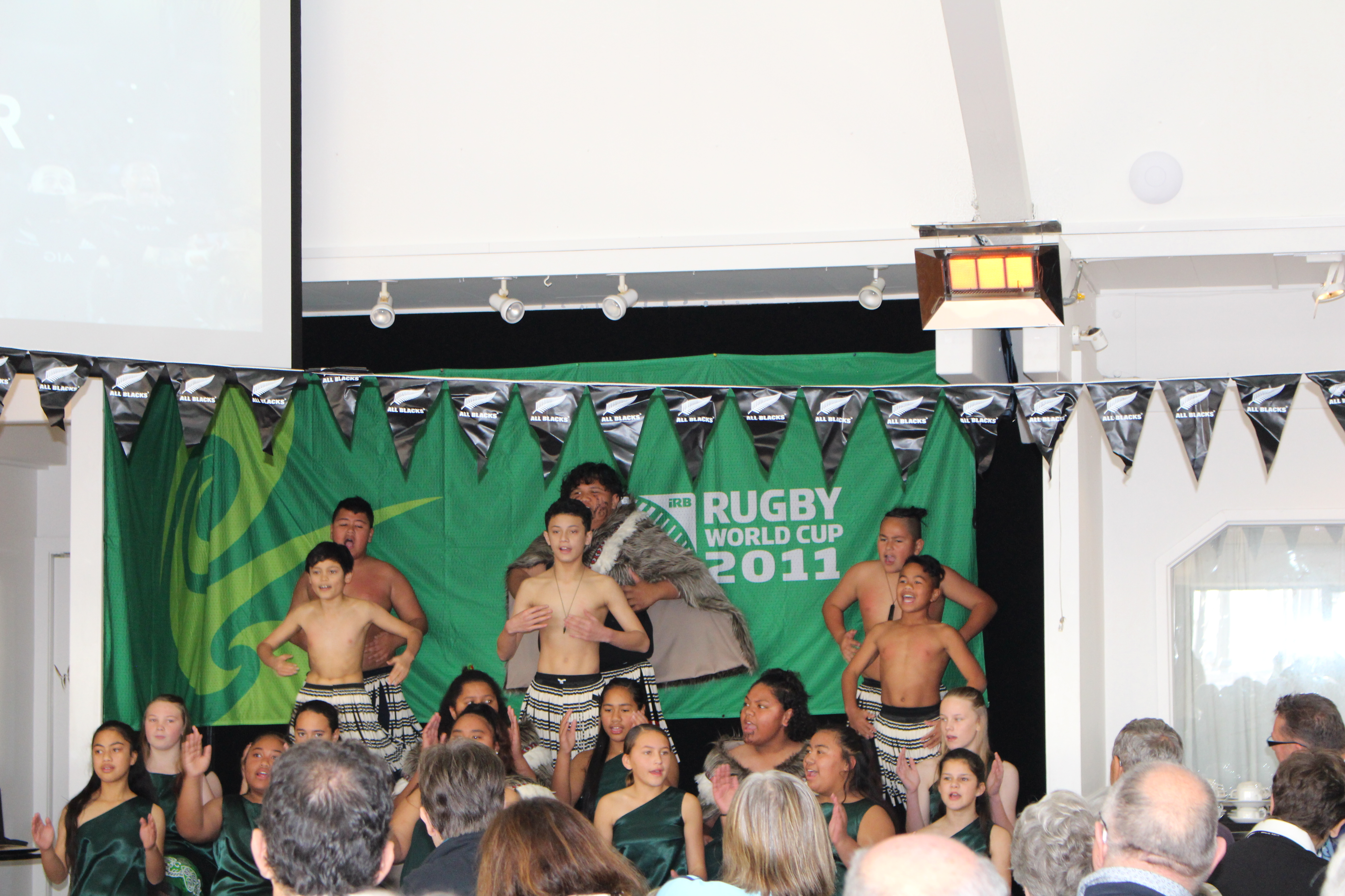 Pakuranga Intermediate preform for Rotary at Bucklands Beach Yacht Club.